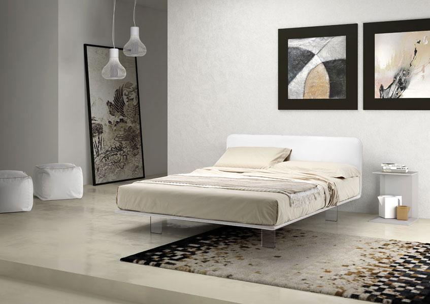 Letti samoa lissone dassi arredamenti mobili samoa per la zona notte - Mobili sospesi per camera da letto ...