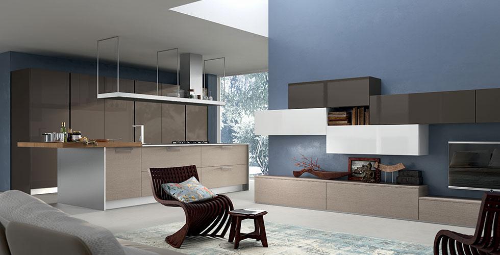 nuovi ambienti a più funzioni - Arredare Unico Ambiente Cucina Soggiorno
