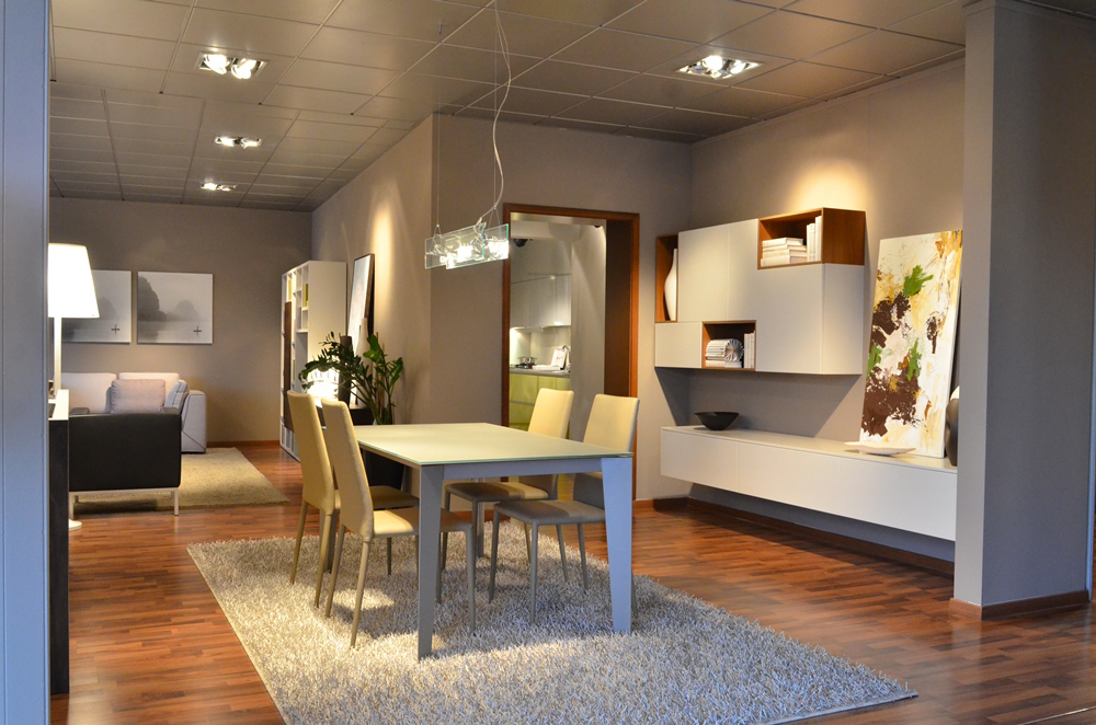 Mobili Lissone interno showroom